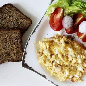 Kremowa jajecznica